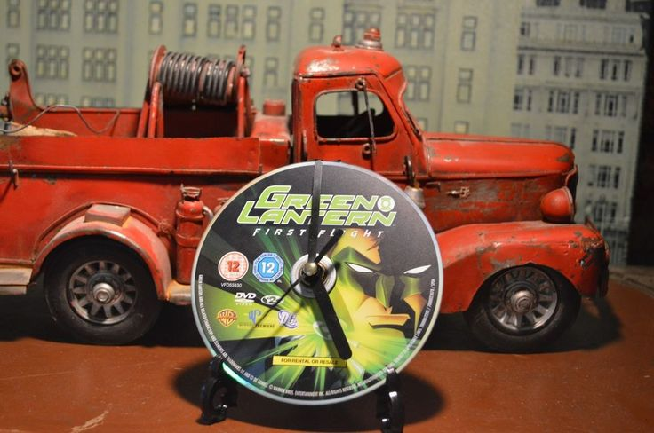 GREEN LANTERN .....FIRST FLIGHT ....DVD / CD ROCK CLOCK in Box .. FREE P+P uk www.ebay.co.uk