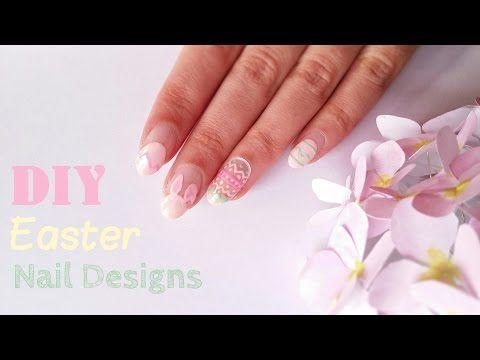 DIY Easter Nail Designs   DIY Σχέδια νυχιών για το Πάσχα - La creme