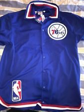 finest selection f34cc 2387d Mitchell   Ness Philadelphia 76ers Sixers shooting jersey size 52 100% NEW