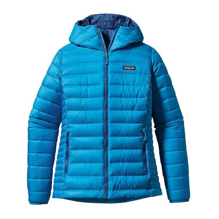 Patagonia Women\'s Down Sweater Hoody - Andes Blue ANDB