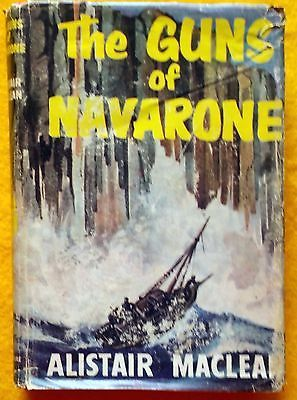 The Guns of Navarone Alistair MacLean Reader's Book Club Ed 1958 HB dust jacket
