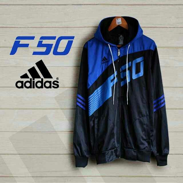 Jaket Adidaa F50 Bahan Lotto Ukuran All size Harga IDR 119K  Minat komen ya gan.  #jaket #adidas #sport #lotto #F50