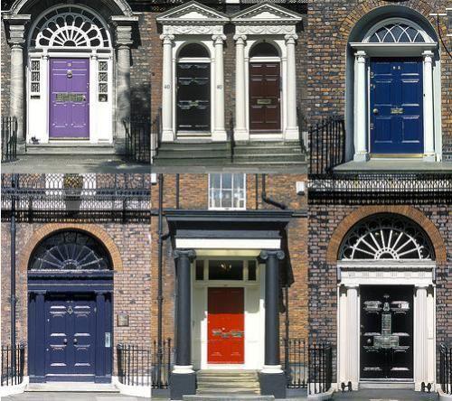 Georgian Liverpool, doorways of Rodney Street