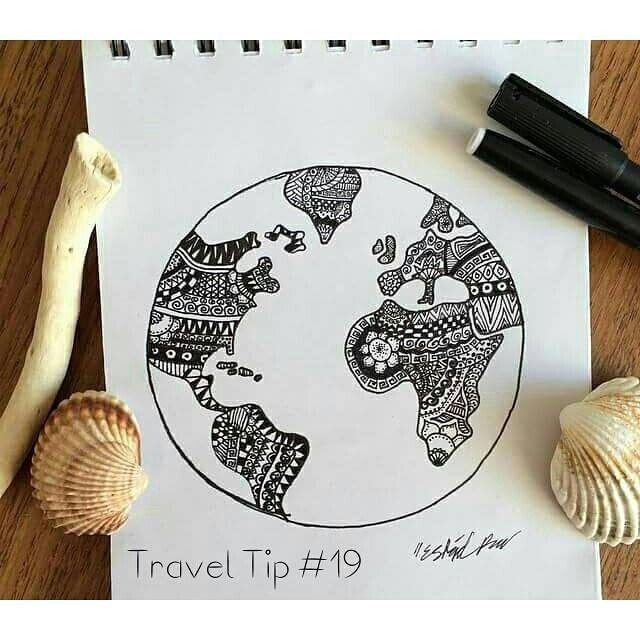 Travel Tip #19 Keep your itinerary flexible and open (if possible) so you can stay longer/add places you want to see to your itinerary. You so often find hidden secrets or get recommendations from locals - it's a shame to have to leave and miss out.  What's your best travel tip? #travelintoliving  Photo @drawing.thesun
