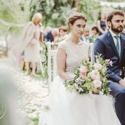 Plenerowy ślub koronkowy