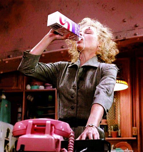 Danny Devito Drinking Milk