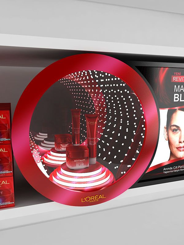 Loreal Revitalift Glorifier Design on Behance
