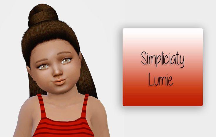 Sims 4 Hairs ~ Kenzar Sims: Simpliciaty`s Desirae Naturals