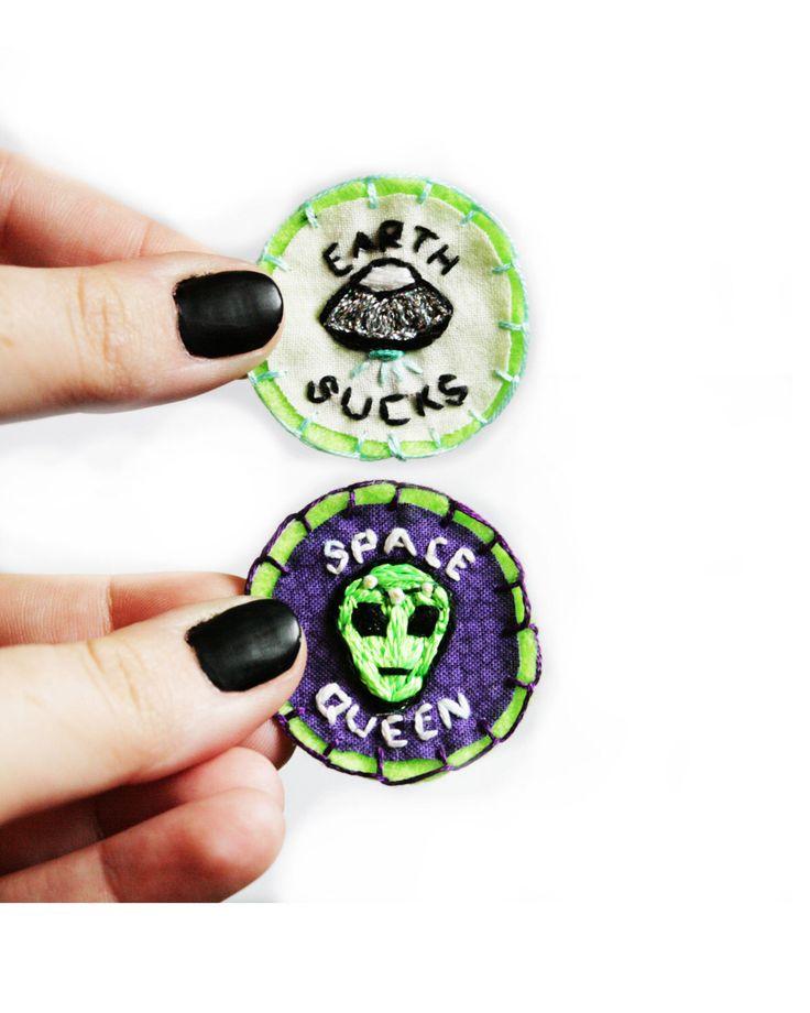 Alien and UFO Merit Badge by NerdScoutsHQ on Etsy https://www.etsy.com/listing/234358391/alien-and-ufo-merit-badge