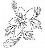 Résultat d'images pour fleur tahitienne dessin