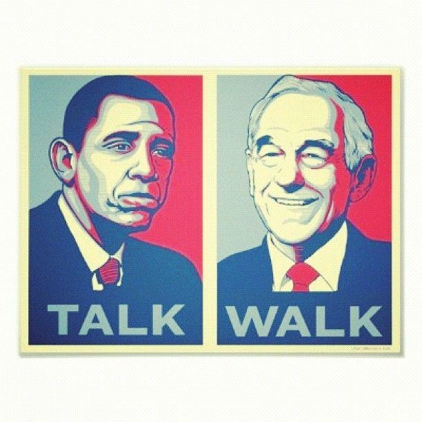 Obama vs Ron Paul