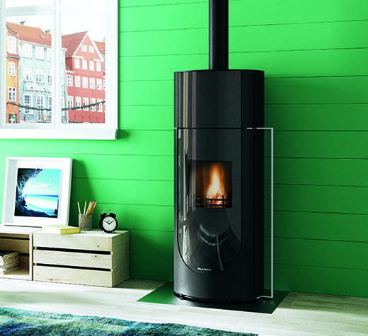 #palazzetti Chantal #Wood #Burning #Stove. For more information http://www.nutechrenewables.com/palazzetti-chantal-wood-burning-stove/