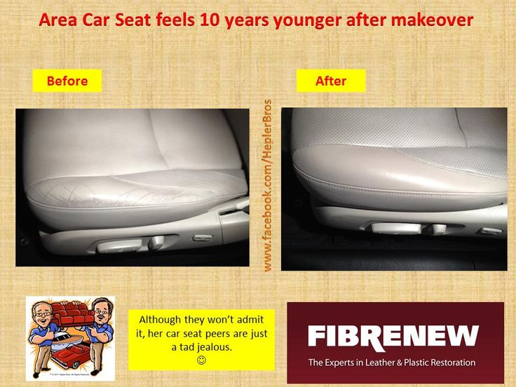 do your car seats need plastic surgery fibrenew can fix you up car seat repairs pinterest. Black Bedroom Furniture Sets. Home Design Ideas