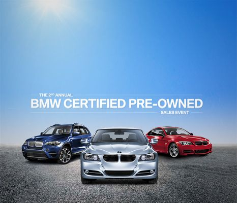 #BMW Certified Pre-Owned Sales Event