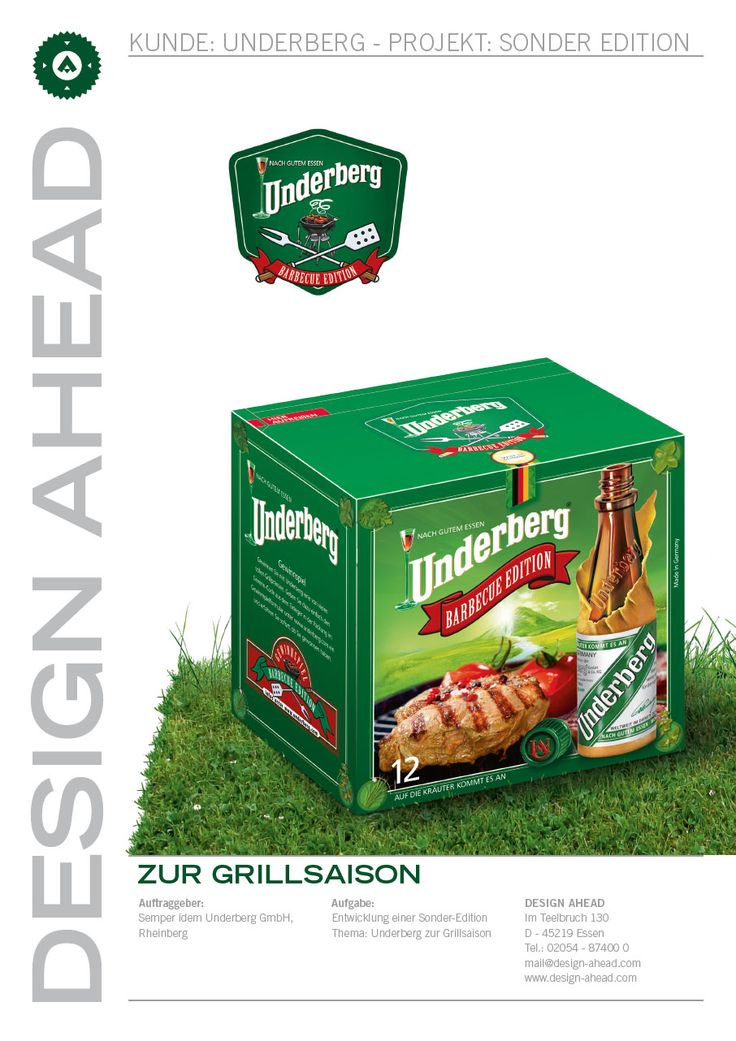 Packaging Design Underberg Barbeque Edition