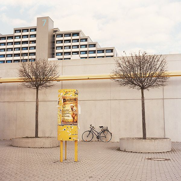 Advertising column, 2014, Munich http://www.juliasmirnova.com/