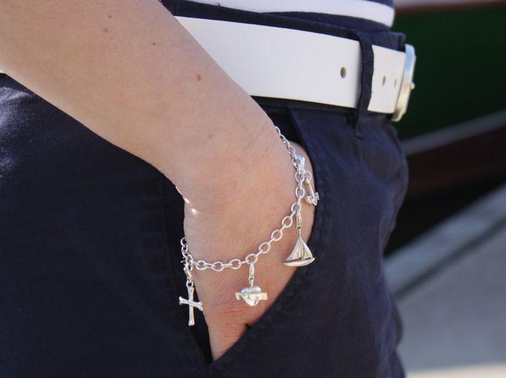 Anhänger Charm Segelboot für Bettelarmband aus Silber, maritme Geschenke, Segler Schmuck, für Frauen von Trendklunker auf Etsy