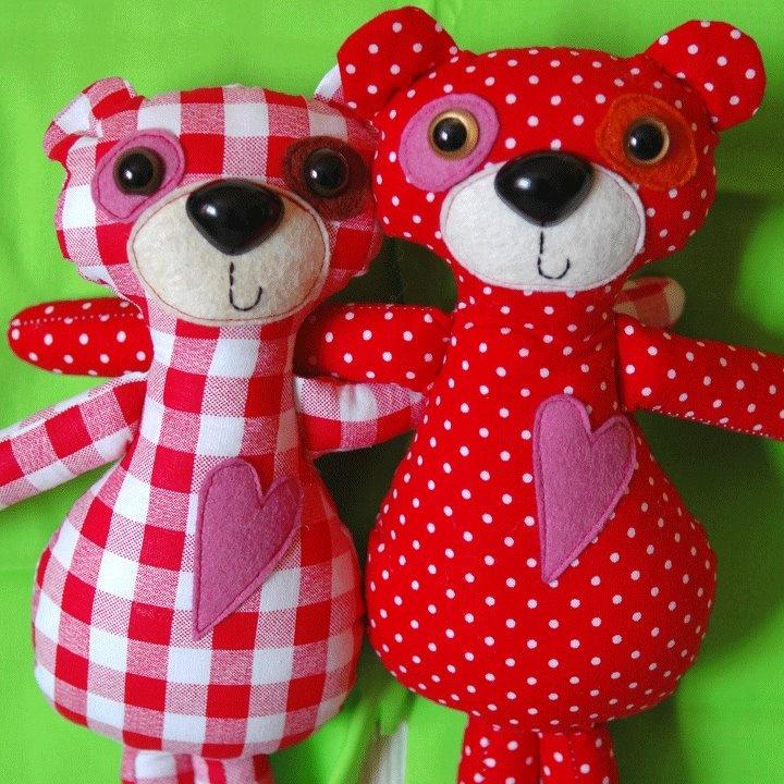 lovely teddy bears by figurka design