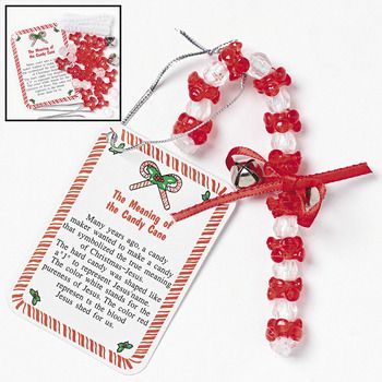 Candy cane craft the gift of salvation christmas for Candy cane crafts for adults