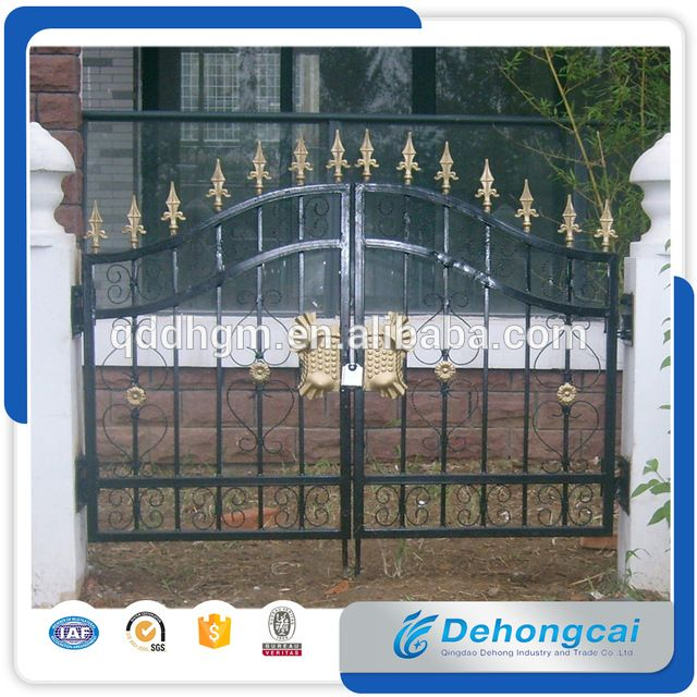 Look what I found Via Alibaba.com App: - Gates and steel fence design, steel door designs, wrought iron gate design(factory sale and export)