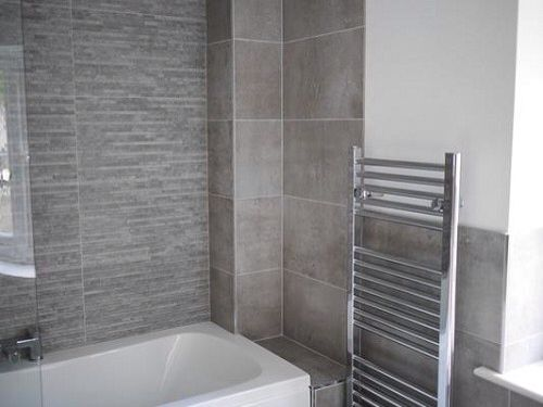 Stratum Grey Tile Looks Great With The Tekno Grey Tile Bathroom Pinterest Grey Tiles