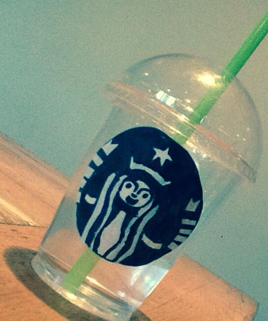 Make your own Starbucks cup at home