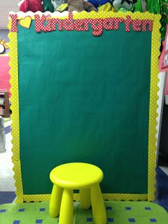 "My Kinder Antics: Preparing for ""Meet the Teacher"" FUN"