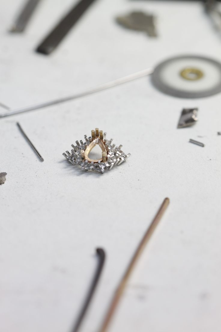 An insight into the handcrafting process for our beautiful ring featuring a 0.66ct Argyle Pink Diamond from the 2008 Annual Argyle Diamond Tender.