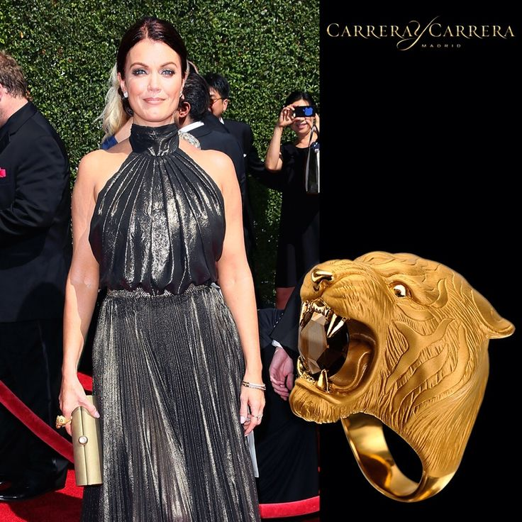 @Bellamy_Young from the TV hit series #Scandal wore the #iconic #CarrerayCarrera Tiger ring to the 2014 Creative Arts Emmy Awards #jewelry #jewels #joyería #jewelrygram #fashion #fashionjewelry #fashionista #gemstone #gems #bling #style #stylish #stone #stones #trendy #accessories #accessory #love #style #stylish #ootd #bellamyyoung