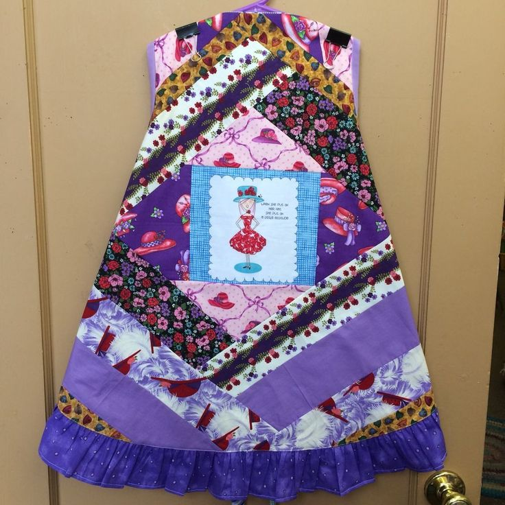 Handmade Apron Mini Quilt (No Rhyme Or Reason) Just A Little Attitude  | eBay