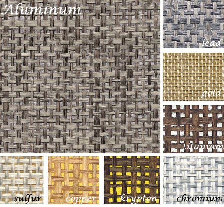 Phillip Jeffries Simply Seamless Wallpaper: The Wallpaper Elsa Used Is The Metallic Paper Weave In