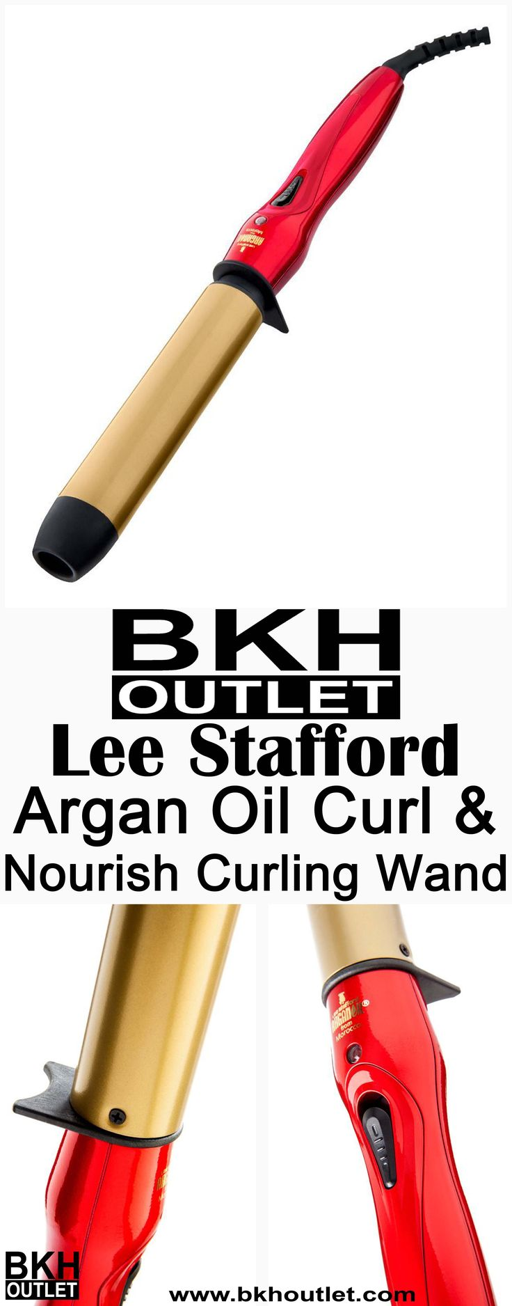 Salon Quality Curls Without The Wait Get stunning curls in no time with the Lee Stafford Argan Oil Curling Wand! A sophisticated super fast heat up system allows the wand to reach 200C in just 30 seconds. No more waiting around to get those head... │skin care │beauty tips │skin care products │beauty products │beauty tips │hair care #skincare #beautytips #skincareproducts #beautyproducts #beautytips #haircare