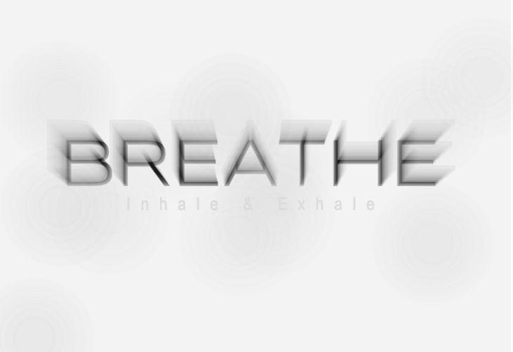 Breathe inhale exhale heltenkeltkomplicerat Picture