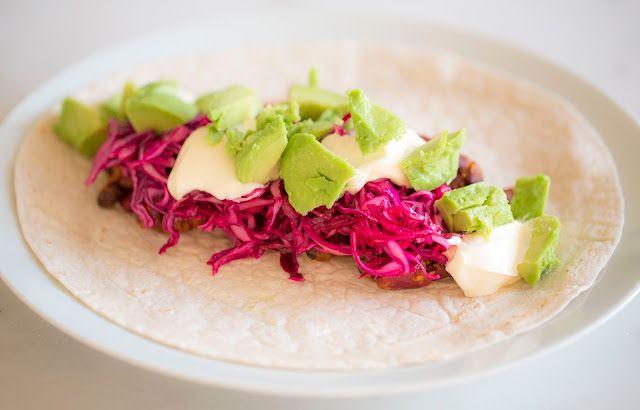 majas kokvrå: Bean taco