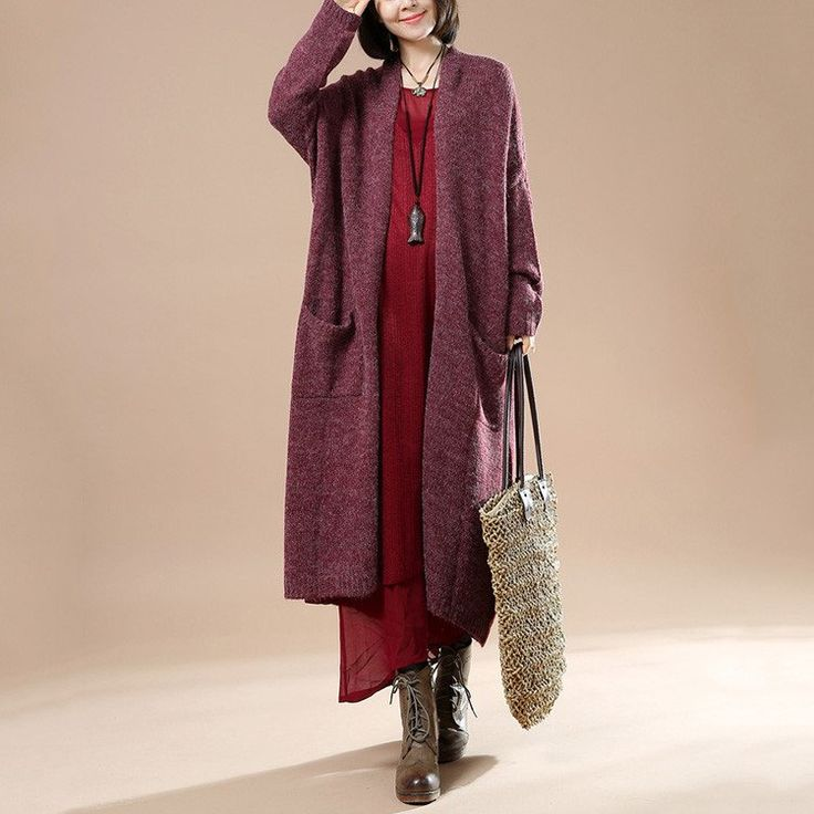Autumn Women New Long Sleeve Sweater Cardigan Jacket