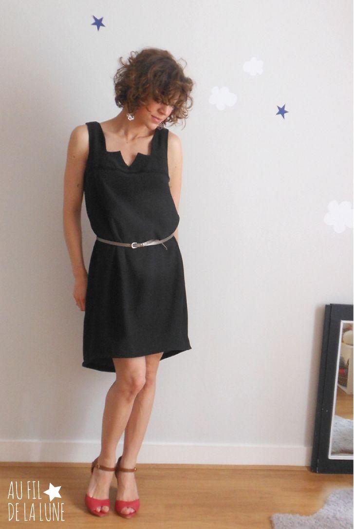 Les 130 meilleures images propos de couture sur pinterest porte pingles sacs et portefeuilles for Patron tablier original femme asnieres sur seine