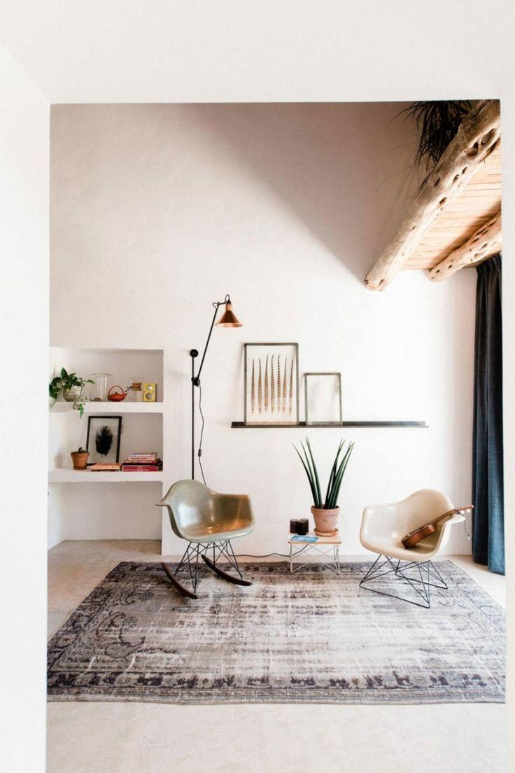 El diseño de las nuevas cabañas rurales #Ibiza #Hometour #cabañas #rural #cabañasrurales #diseño #salon