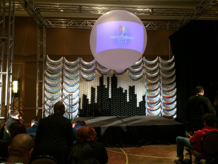 80 best images about prom decor on pinterest dance for Balloon decoration chicago