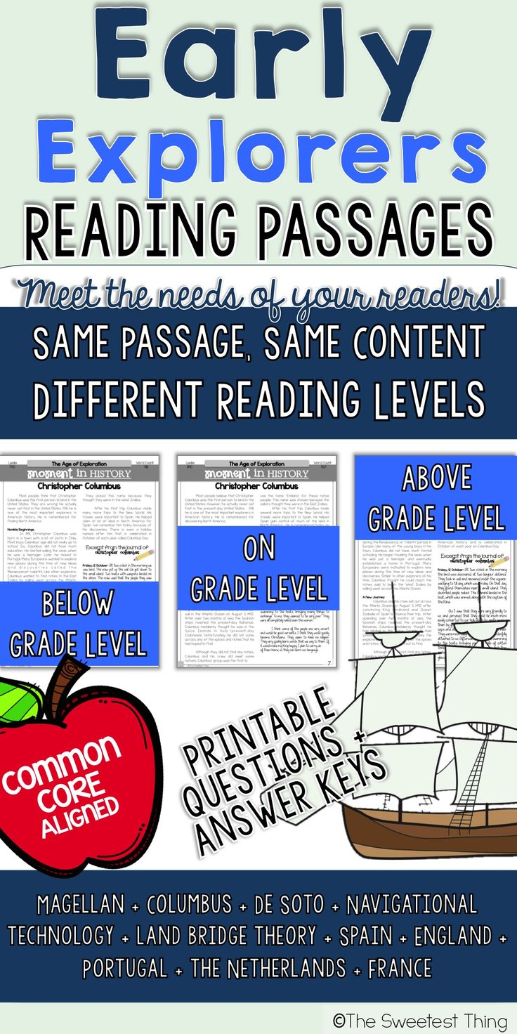Worksheet 5th Grade Reading Material 1000 ideas about 5th grade reading on pinterest literacy perfect for social studies integration with ela age of exploration texts 4th guided gradeguided