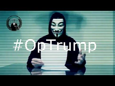 Anonymous declares total war on Republican front runner Donald Trump... YouTube