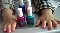 Non-toxic Nail Polish by Piggy Paint ~ available in 20 colours, $10.50