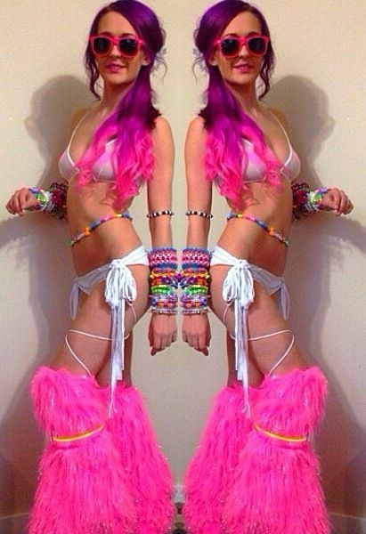 Look At Those Fluffies O Edc Ideas Rave Outfits