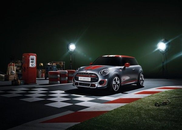 2014 Mini John Cooper Works 600x429 2014 Mini John Cooper Works Concept and Images