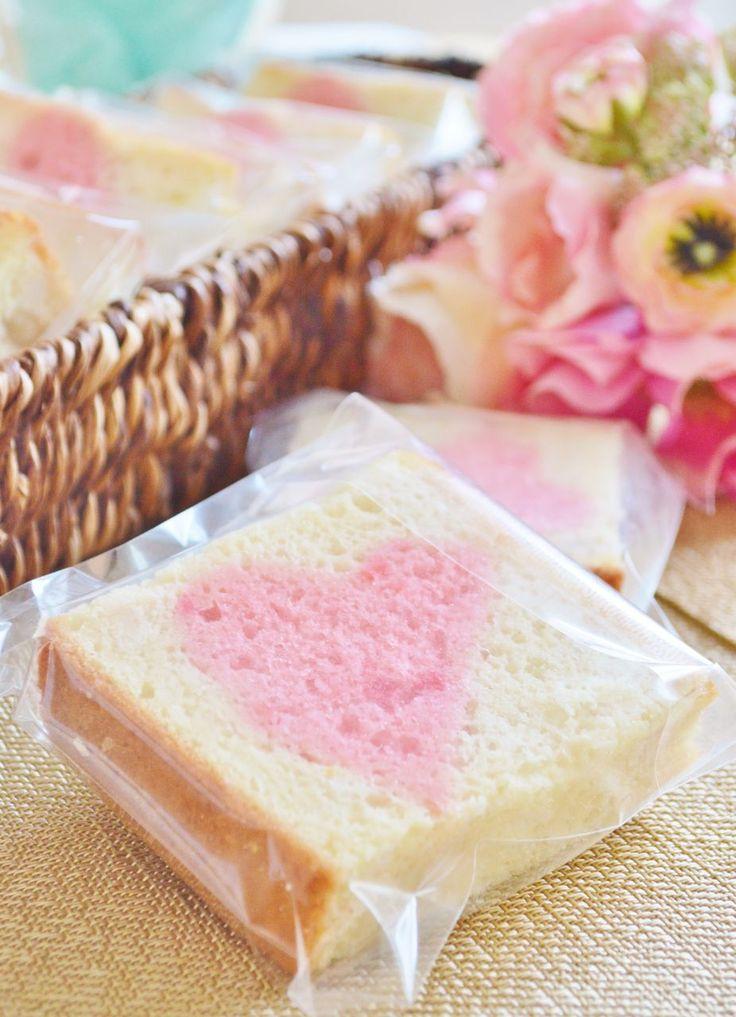 ハートパウンドケーキ