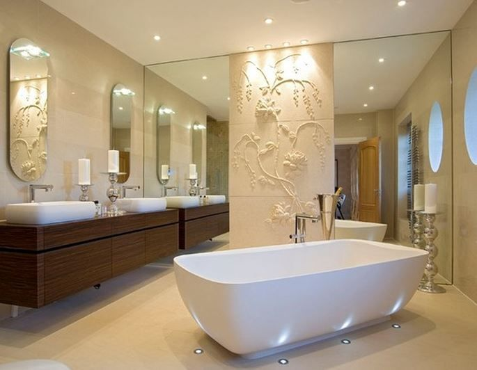 Get Lavish Bathroom Designs For Your Home. Designs Beautiful Bathroom  Designs Using Our Ideas And Tips. Learn How To Create Interesting Bathroom  Designs.