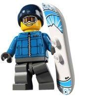 8805-16: Snowboarder Guy