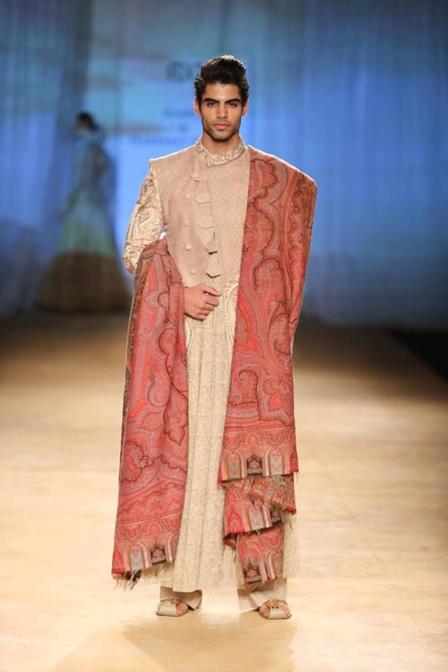 Rimple & Harpreet Narula at India Couture Week 2014 - men's sherwani