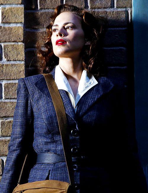 Agent Carter: my fashion spirit animal this A/W   #marvel #agentcarter  #kurttasche