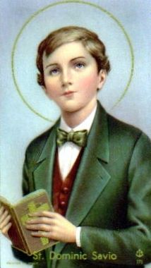St. Dominic Savio, pray for us and all young boys.  Feast day March 9.