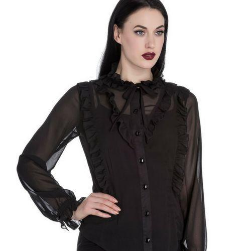 Maquillaje Gótico para un look gótico casual #gothicmakeup #gothgoth #gothicfashion #altfashion